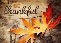 Be Thankful Rustic Thanksgiving Greeting Cards